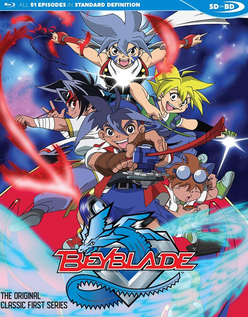 Beyblade is the best action anime series of all time. It is also considered  as a good action anime and one of the top action anime.